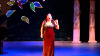 Soprano Yamel Domort interprets, Dich teure Halle—Concurso San Miguel 2015
