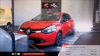 Reprogrammation moteur Renault Clio IV 1.5 DCI 75 @ 120 PS - ADP Performance