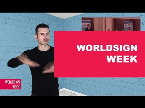 WORLDSIGN | Irish Comedian Upsets Deaf Community, Russia Bec