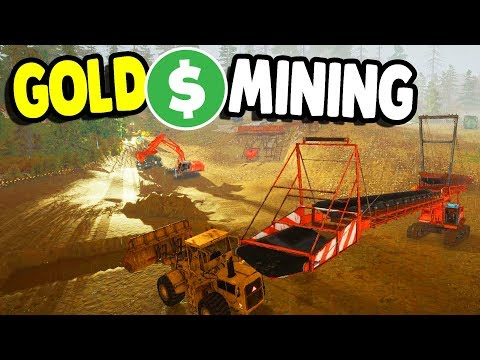 Let's Get RICH from GOLD MINING with NEW DLC MACHINES | Gold Rush: The Game Gameplay