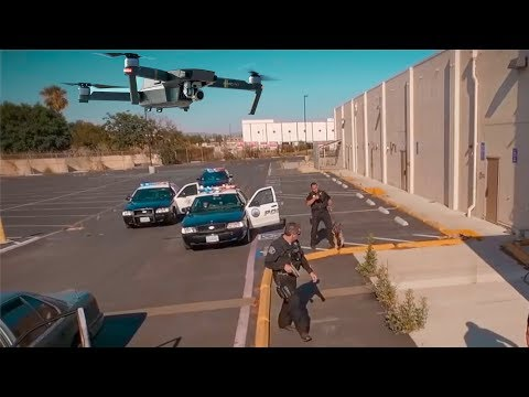 Is LAPD Los Angeles POLICE SPYING on us with DRONES?