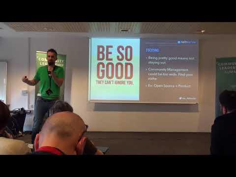Diventare un community leader in 10 mosse (Alessio Fattorini)