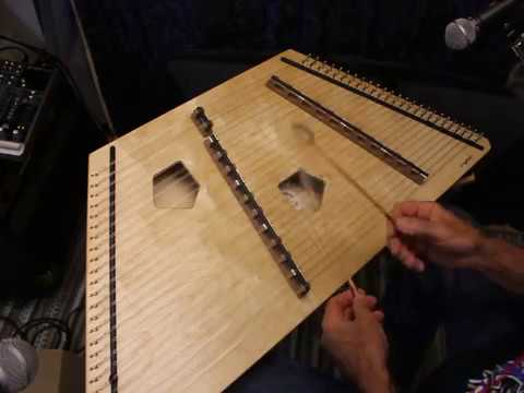 Great Sounding Chickadee 13/12 Hammered Dulcimer-Songbird Dulcimers