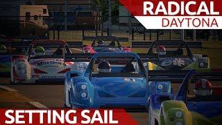 Setting sail at Daytona!