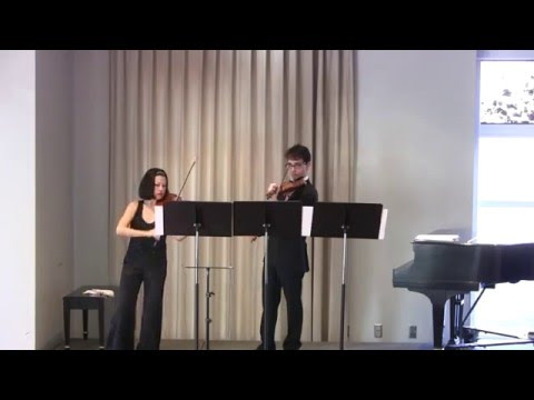 Double Helix by Augusta Read Thomas, played by L´Étoile Violin Duo