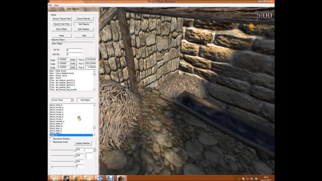 Mount blade warband map making castle leeds 6x speed youtube gumiabroncs Choice Image