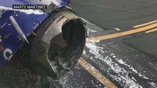 Triebwerk explodiert – Passagierin wird fast aus Flugzeug gesaugt