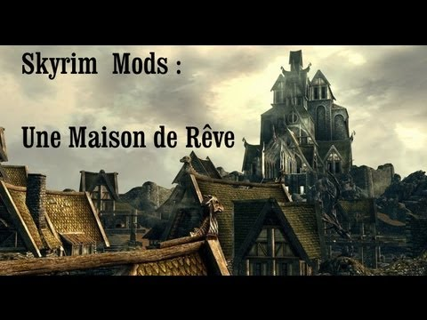 skyrim mods river wood home une maison de r ve youtube. Black Bedroom Furniture Sets. Home Design Ideas