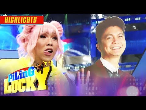 Vice Talks To Vhong's Standee | It's Showtime Piling Lucky