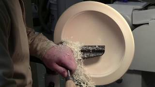 Rough Turning Large Maple Bowl on STRATOS XL Wood Turning Lathe PART 2