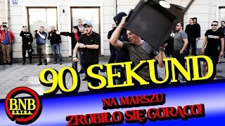 GAZ, ARMATKI, STARCIA Z POLICJĄ! MARSZ RÓWNOŚCI W LUBLINIE | 90 SEKUND