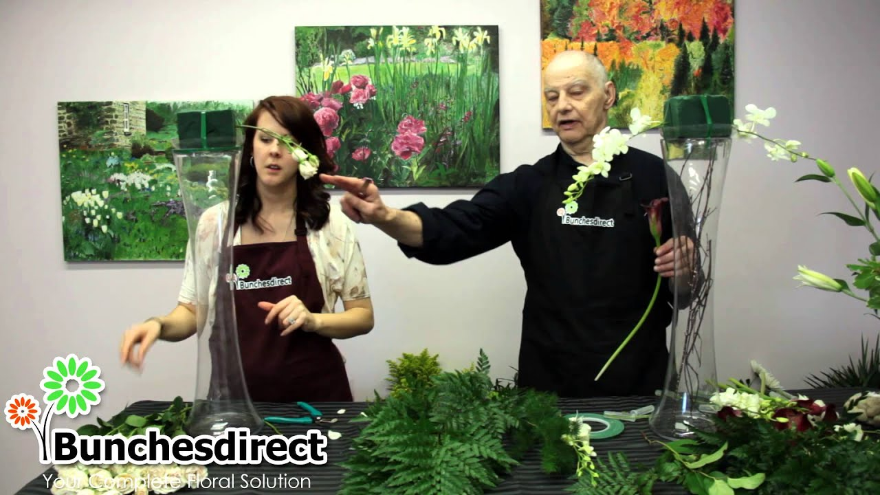 Do it yourself tall centerpieces for buffet table youtube solutioingenieria Images