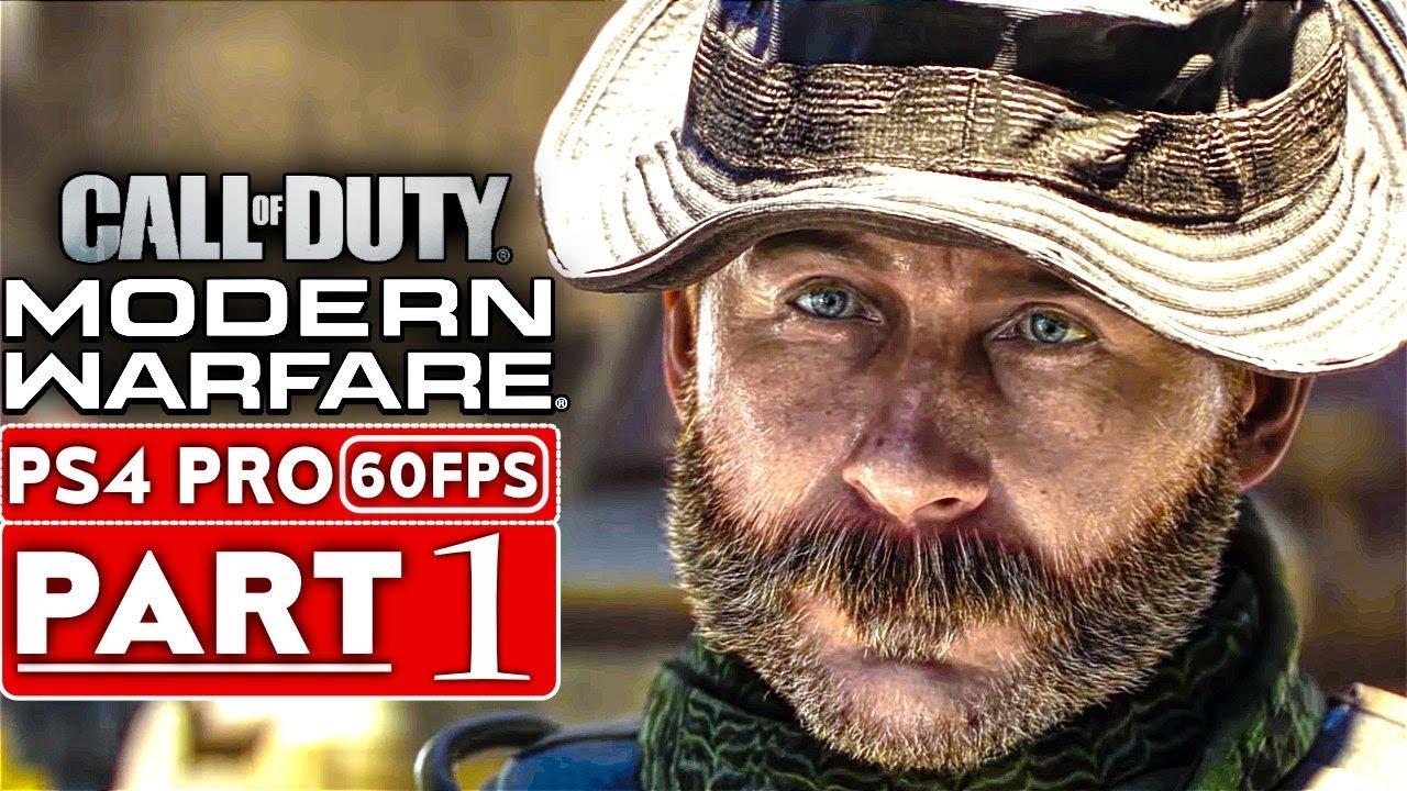 CALL OF DUTY MODERN WARFARE - Komplettlösung für das Gameplay - Teil 1 Kampagne [1080p HD PS4] - Kein Kommentar + video