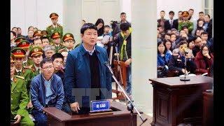 Những hình ảnh mới nhất từ phiên tòa xử ông Đinh La Thăng