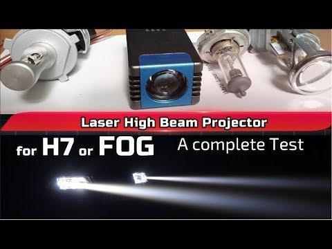 Laser High Beam With Projector Lens For H7 High Beam Or FOG