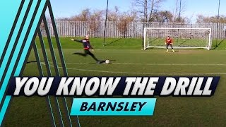 Static & Running Shooting Challenges | You Know The Drill - Barnsley with George Moncur