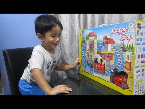 Kids trains toy - kids railway train toy videos - Choo Choo cartoon train