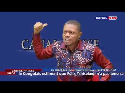 CANAL PRESSE : ba enlève JACKY NDALA po atelemeli  CONGOLITE