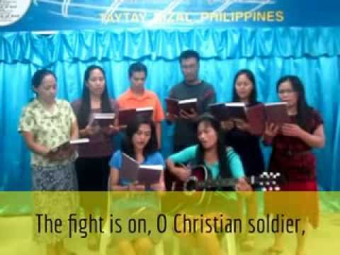 The Fight is On with Lyrics - Gospel Song