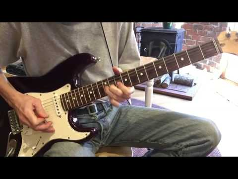 Please Come Home for Christmas, Eagles electric guitar how-to tutorial