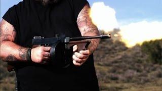 Auction Hunters: Firing a Tommy Gun