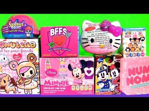 Kids Toys Squinkies Do Drops Mystery Villa Surprise BFFS Donutella NUM NOMS Minnie Shopkins