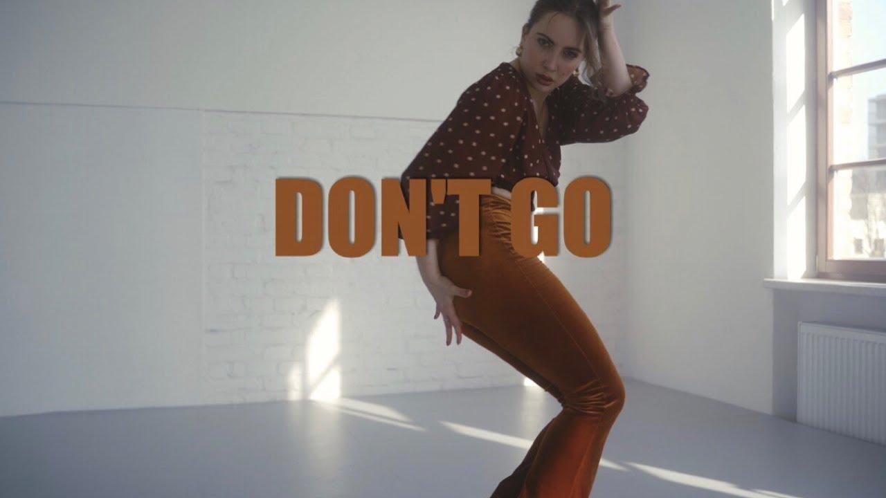DON'T GO - Isabela Merced & Danna Paola // Vienna Heels Beginner Choreography by Brini