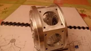 moteur wt2527 7, 7 cylindres en étoile, radial model engine