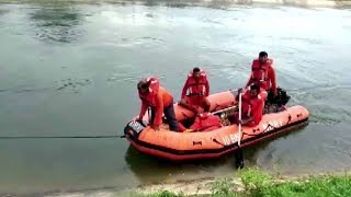 Car falls into canal in Telangana's Suryapet, rescue operation underway
