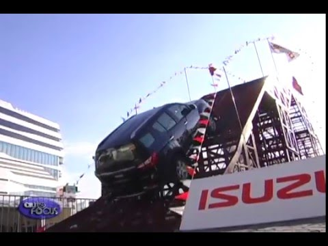 The Isuzu 4X4 Playground at the SM Mall Of Asia 2016 - Special Feature