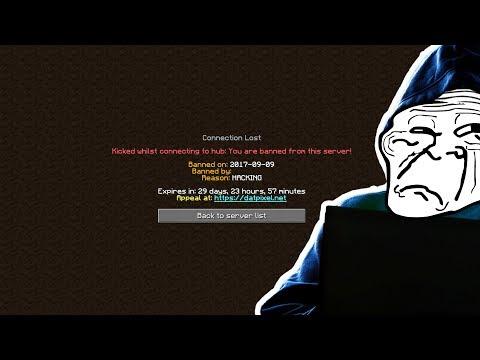 HUGE YOUTUBER GETS CAUGHT HACKING! (Minecraft Trolling)