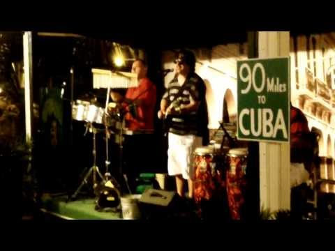 Cuban Culture alive in Key West Florida's Mallory Square