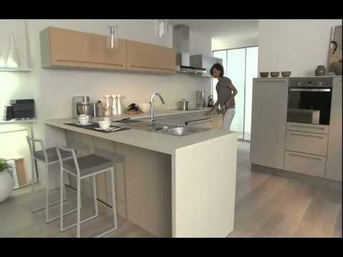 Starcuisine modele de cuisine rustica star cuisine tunise youtube for Modele cuisine encastrable