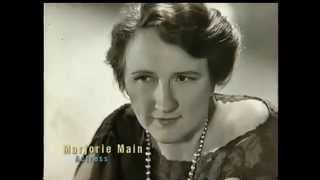 marjorie Main interview