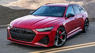 2020 AUDI RS6 AVANT - FIRST REAL TEST - 3.48 SEC /100KMH - Best RS6 ever? In detail
