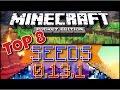 Minecraft Pocket Edition - TOP 8 SEEDS [Minecraft PE 0.13.1] (MCPE)
