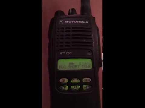 Motorola HT1250 Radio Talk Permit Tones Demo - ProgramMyRadio.com