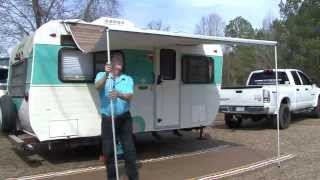 CARAVAN AWNING ROOF POLE REPLACEMENT SUCKER 1