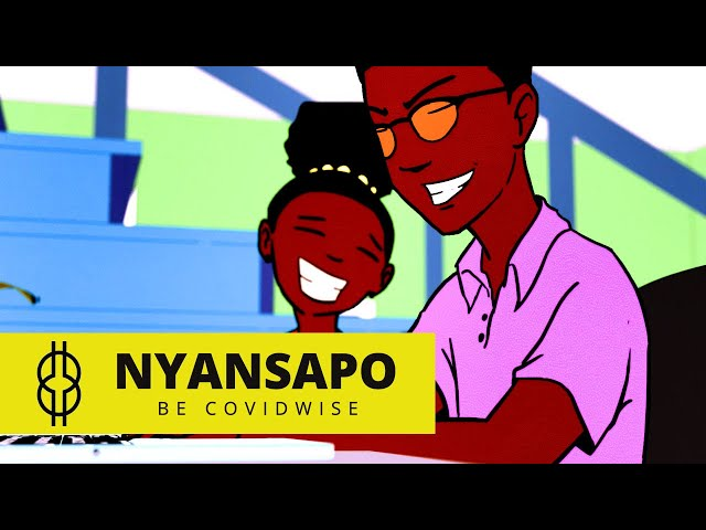 NYANSAPO - Be Covid-wise - Episode 1 | Cartoon Series