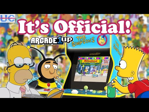 The Simpsons Arcade1up OFFICIALLY Announced! from Unqualified Critics