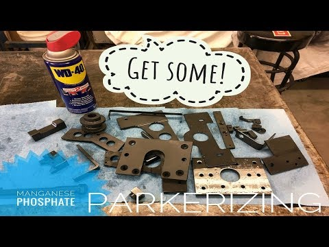 DIY Manganese Phosphate (parkerizing)