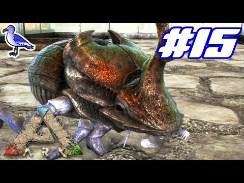 ARK Scorched Earth - HOW TO TAME A DUNG BEETLE - E15