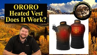 ORORO Heated Vest - Does It Work? - Test and Review