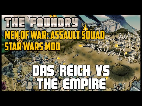 Das Reich vs The Empire - Men of War: Assault Squad (Star Wars Mod)