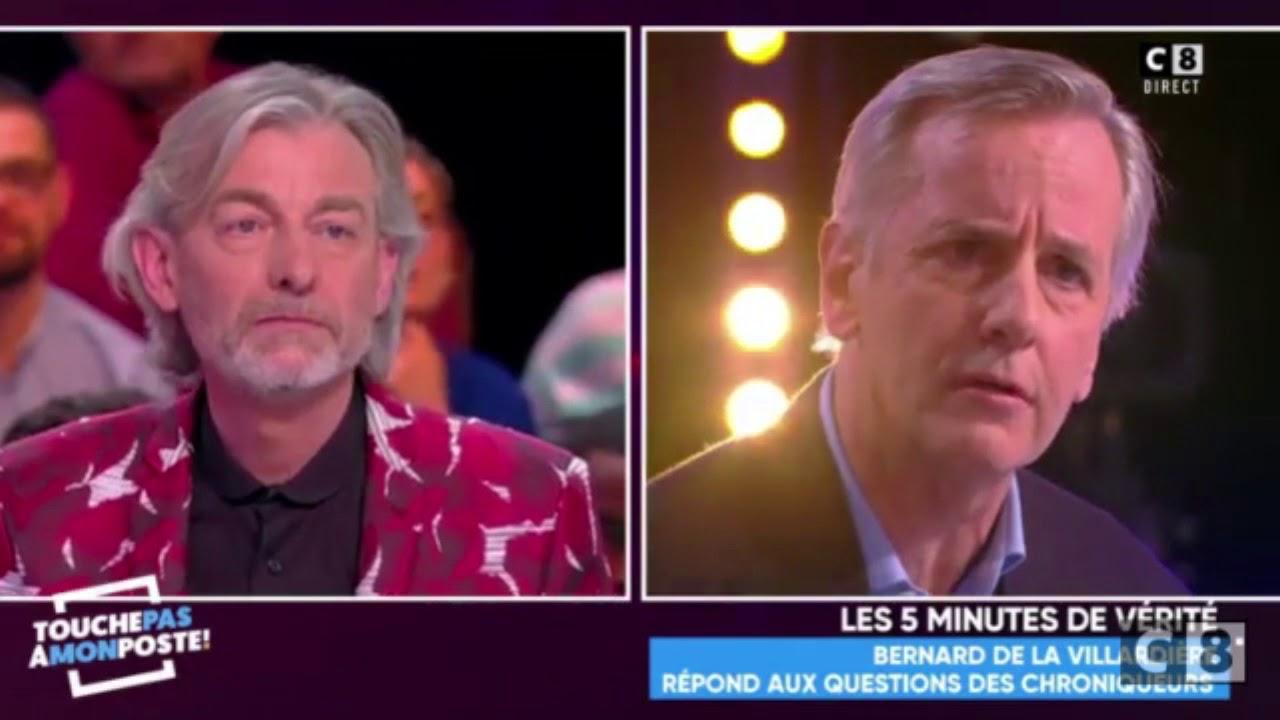 """Bernard de la Villardière contre les """"journalistes"""" de TPMP sur le voile islamique."""