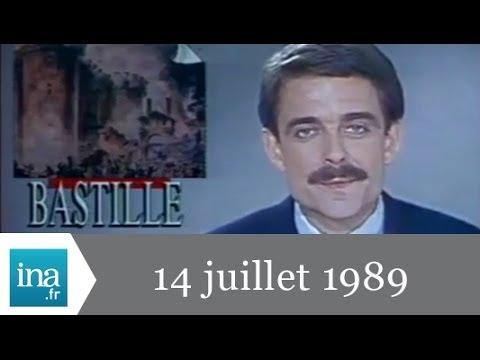 20h France 2 du 14 juillet 1989 - Bicentenaire de la Révolution - archive vidéo INA