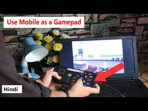 How To Use Android Phone As A Gamepad For PC Game...