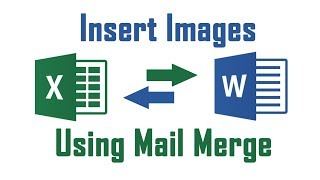 Insert Image Using Mail Merge From Excel to Word Document