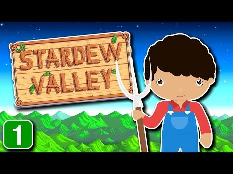 Stardew Valley Learning Series - Your New Farm | Part 1