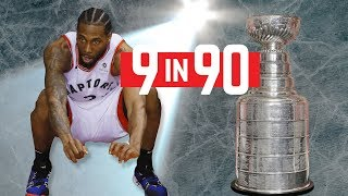 9 ways the Raptors have stolen the spotlight from the Stanley Cup playoffs...in 90 seconds